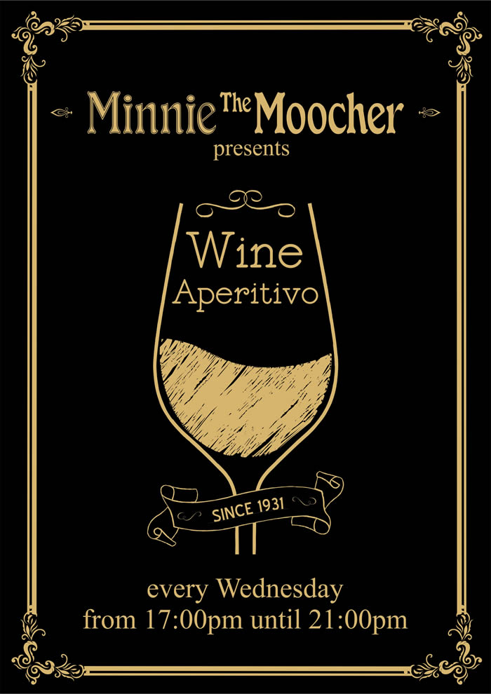 Wine Aperitivo Event | Minnie The Moocher