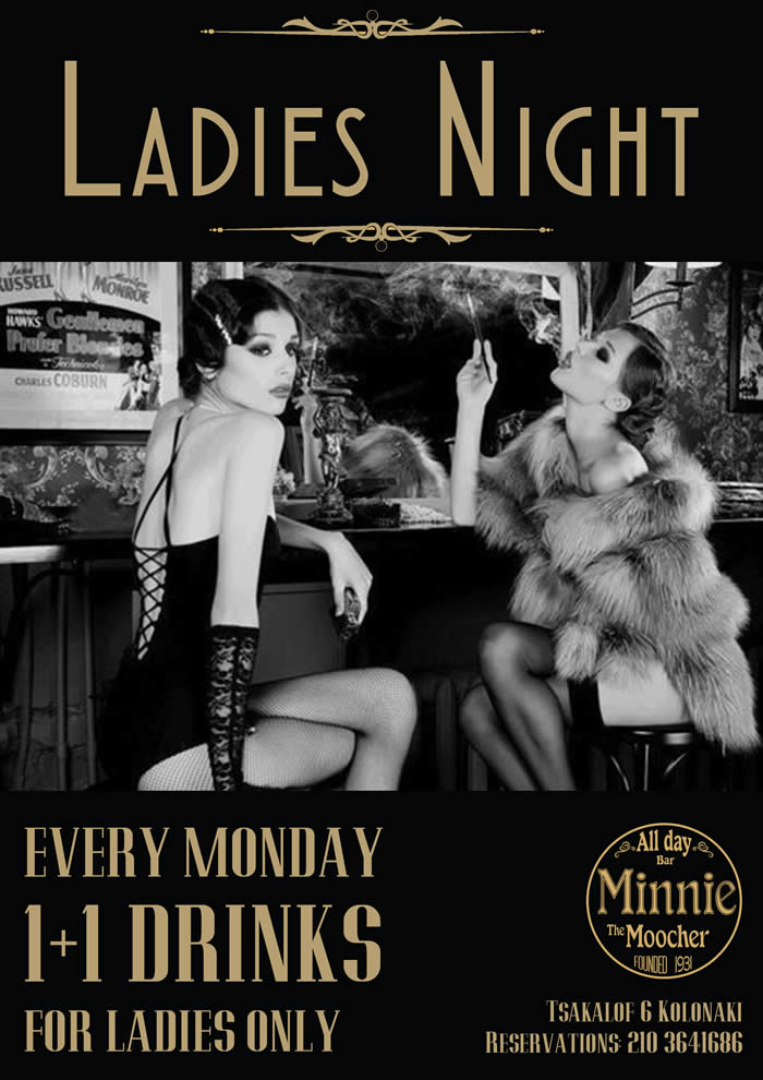 Ladies Night Event | Minnie The Moocher